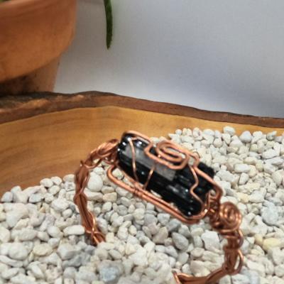 black tourmaline - copper